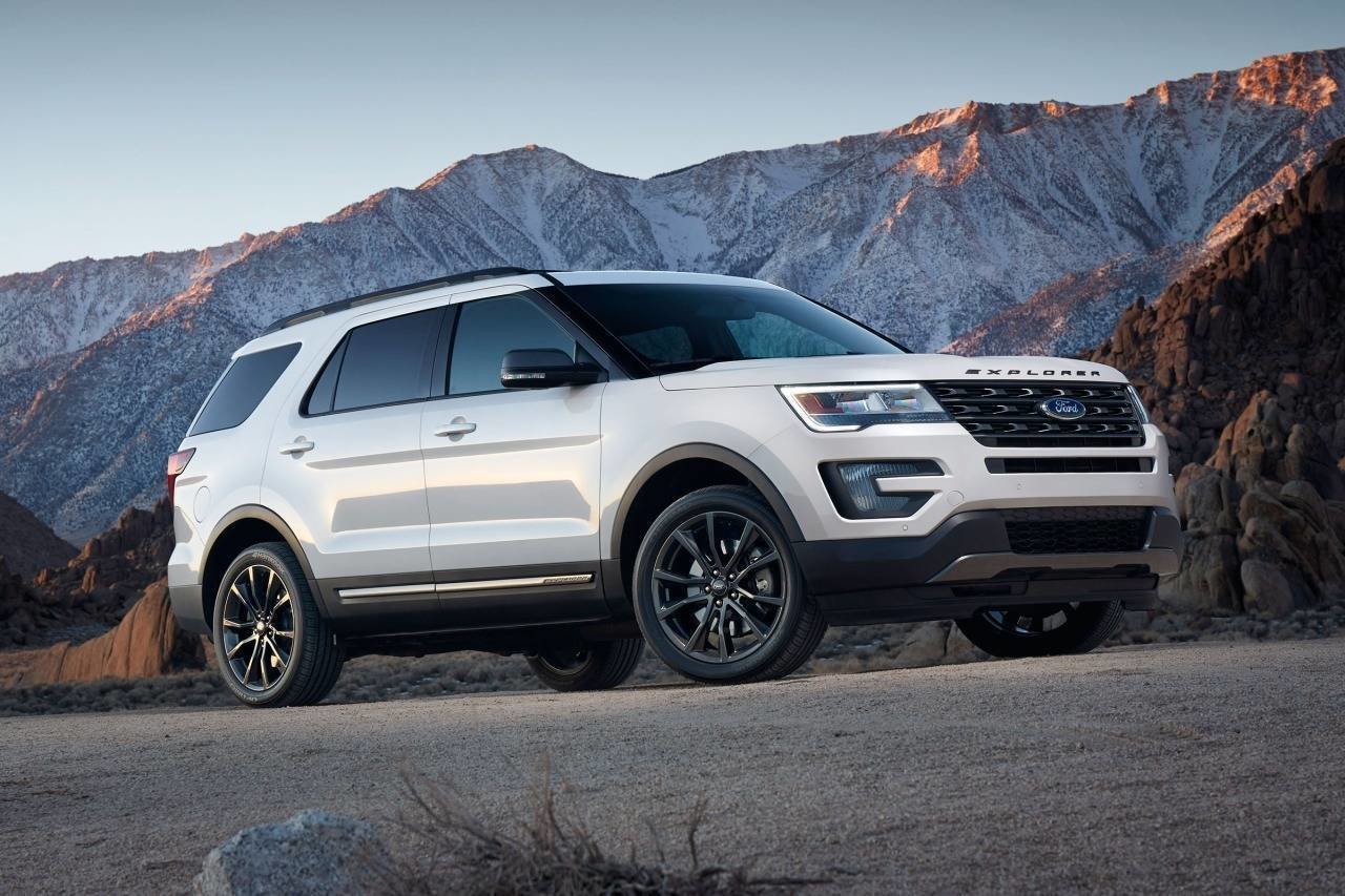 Latest 2018 Ford Explorer Rear Hd Picture New Car Release Preview Free Download