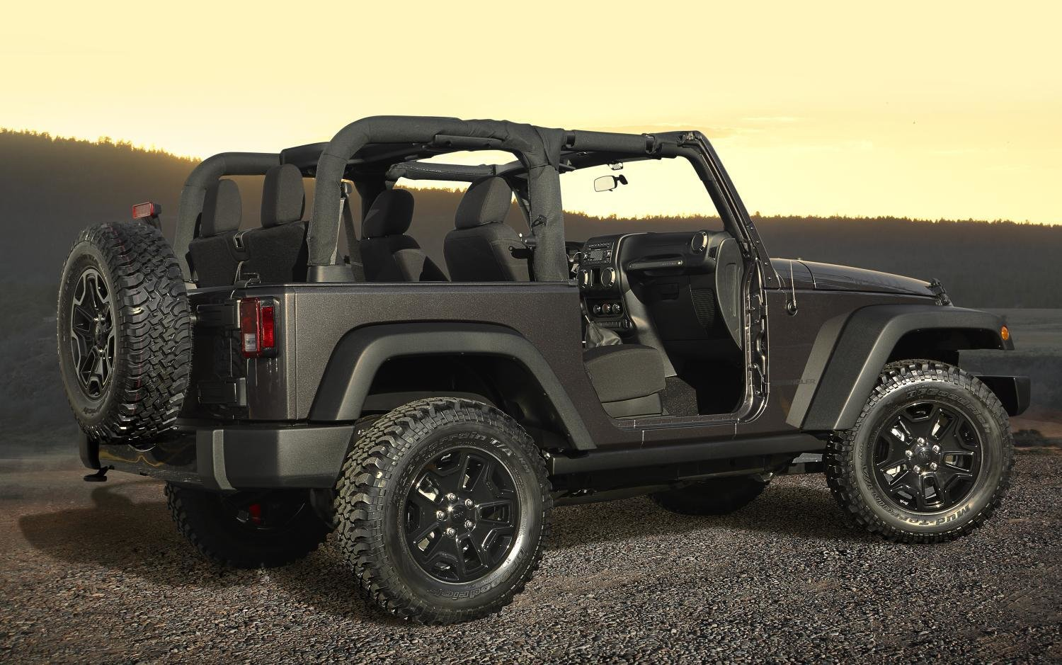 Latest 2014 Jeep Wrangler Willys Wheeler Edition Unveiled Free Download