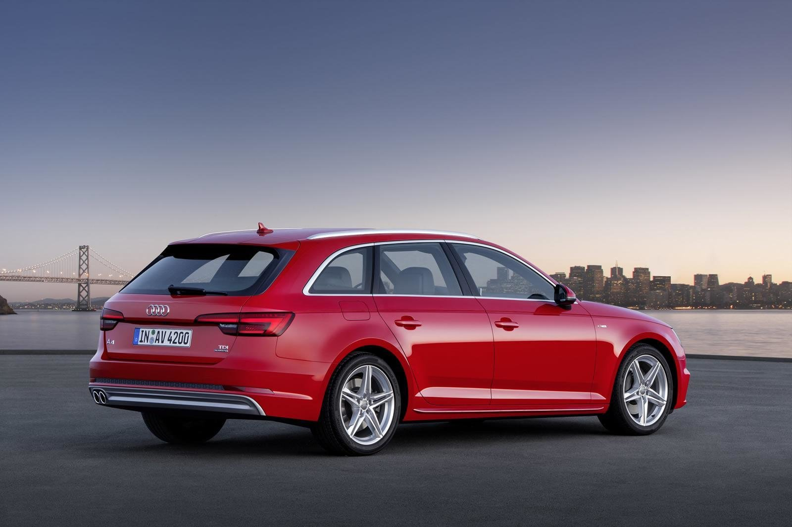 Latest 2016 Audi A4 Avant B9 Photos Videos And Details Free Download