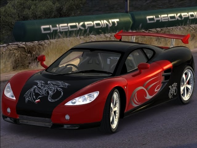 Latest Super Cars Ascari Kz1 Fast Cars Images Free Download