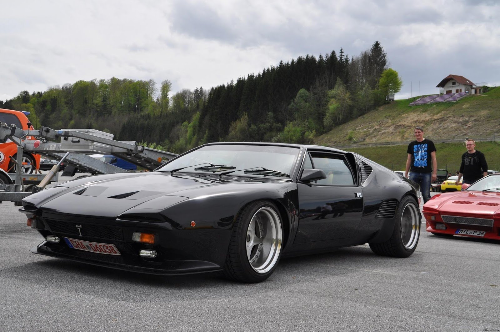 Latest Detomaso Pantera Takeyoshi Images Free Download