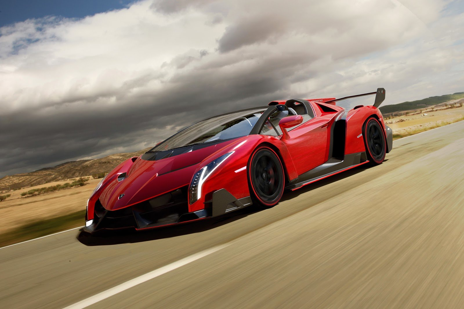 Latest Top Supercar Models Lamborghini Veneno Roadster 2014 Free Download