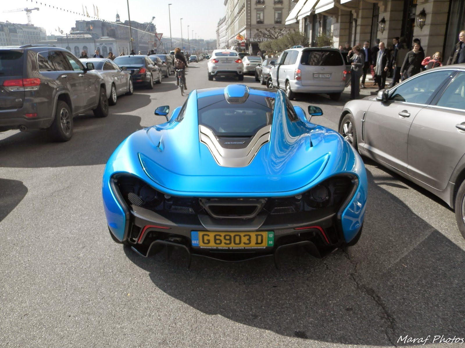 Latest Maraf Exotics Cars Photographer Mclaren P1 Blue Thunder Free Download