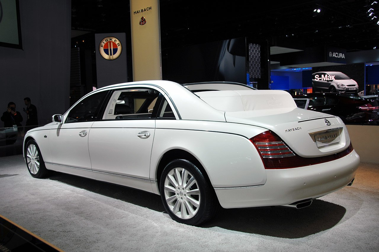 Latest Maybach Landaulet 2011 The Luxury Cars Specification Free Download