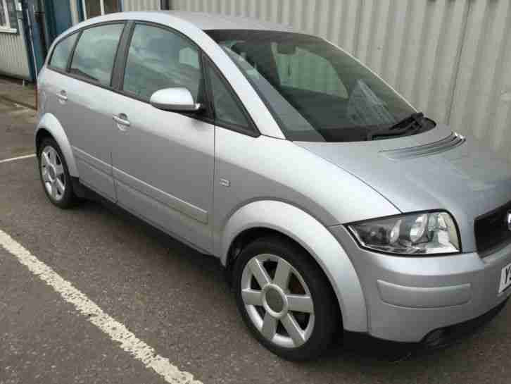Latest Audi 2001 A2 Se 1 4 Petrol Silver Please Read Description Free Download