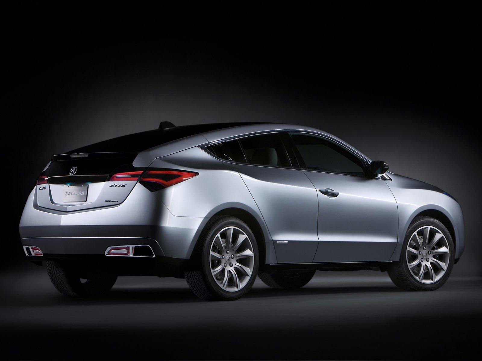 Latest Japanese Car Wallpapers 2009 Acura Zdx Concept Free Download