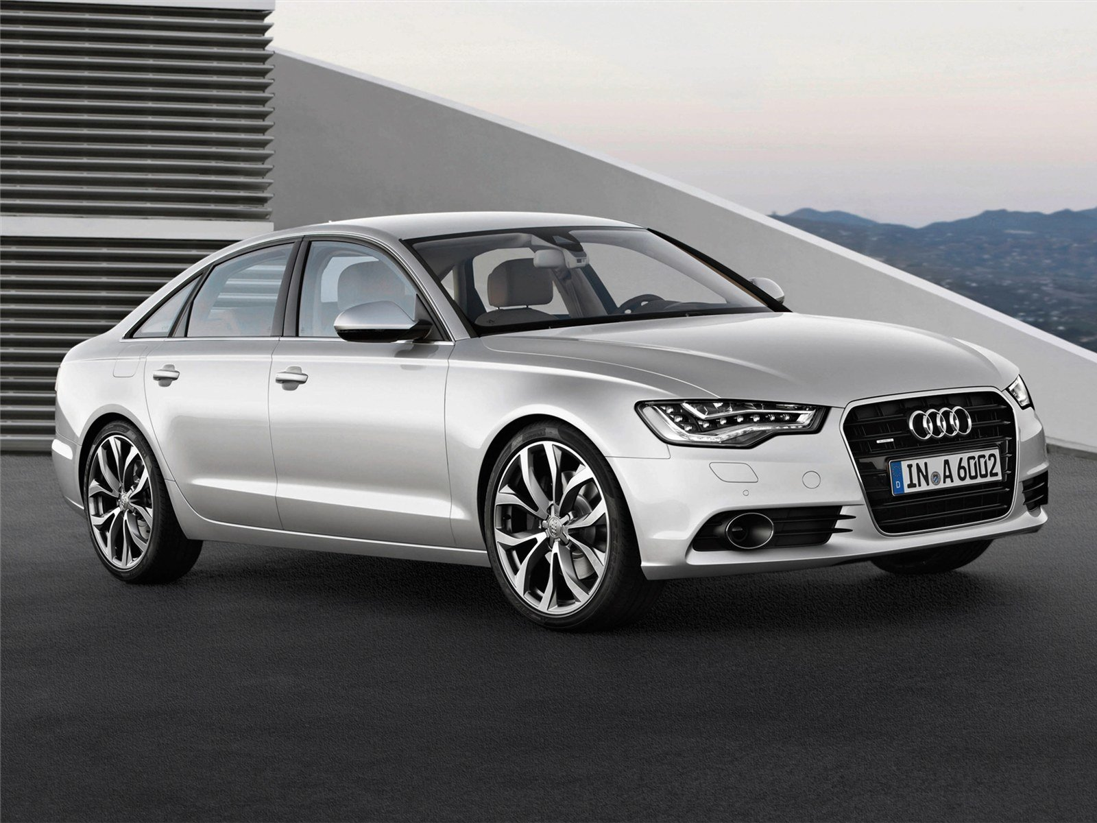 Latest Car Pictures Audi A6 2011 Free Download