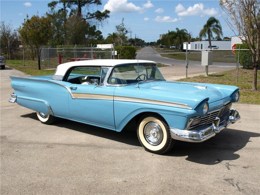 Latest 1957 Ford Fairlane 500 Retractable Convertible 89319 Free Download