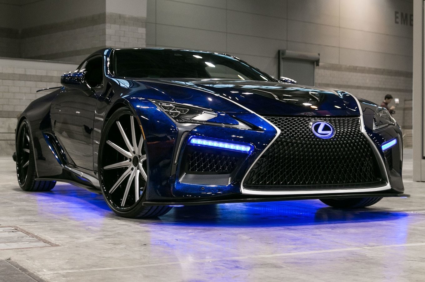 Latest 2018 Lexus Lc Special Editions Inspired By Black Panther Free Download