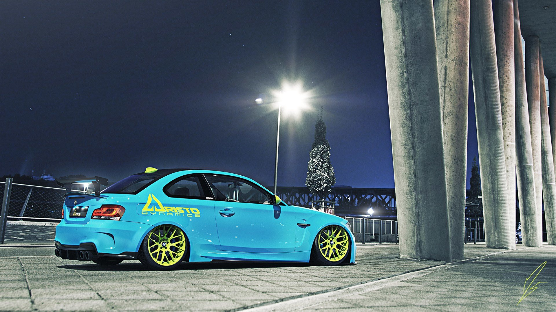 Latest Picture Bmw Tuning 1M Light Blue Automobile 1920X1080 Free Download
