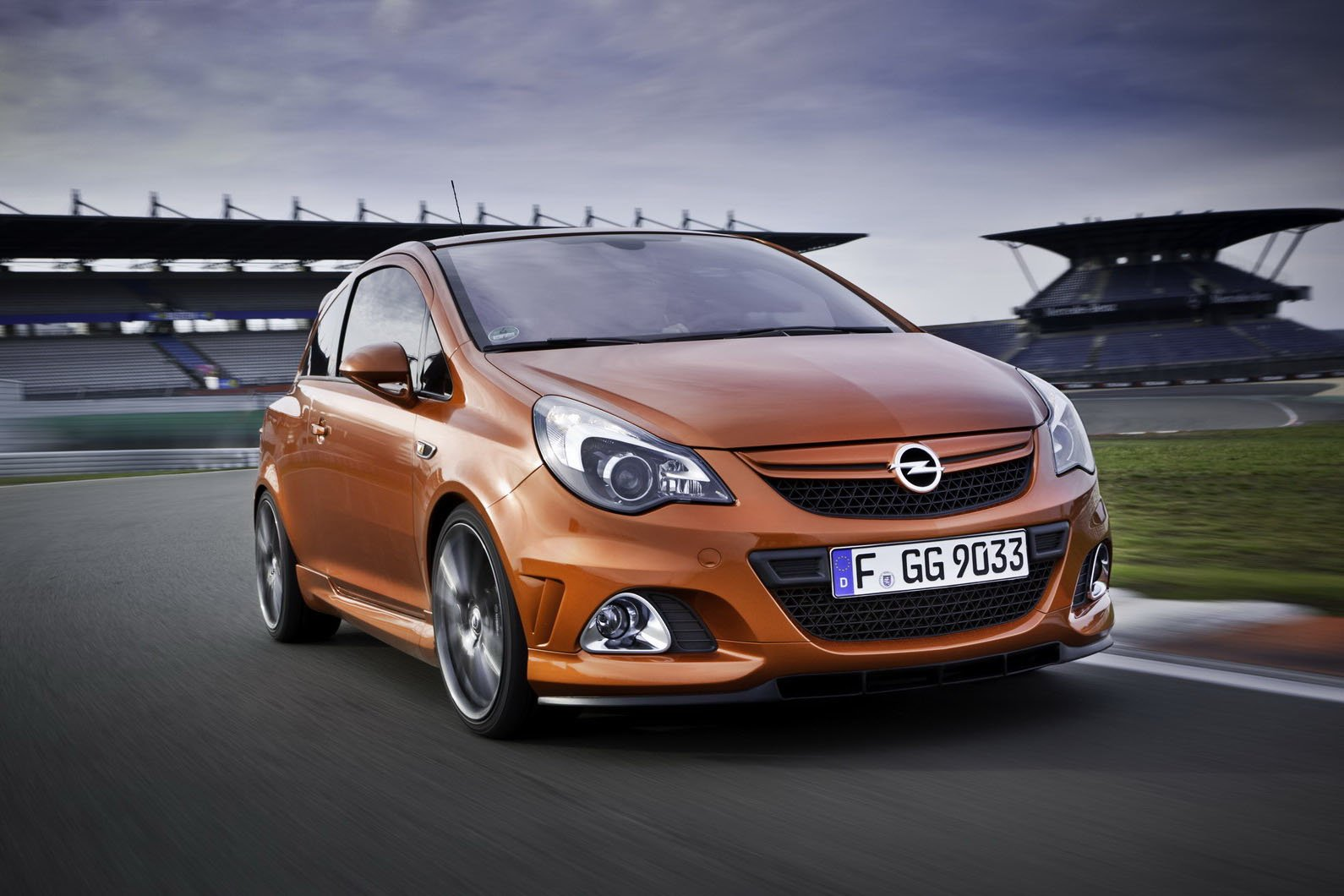 Latest Car Going Under 07 Opel Corsa Opc Nurburgring Edition New Free Download
