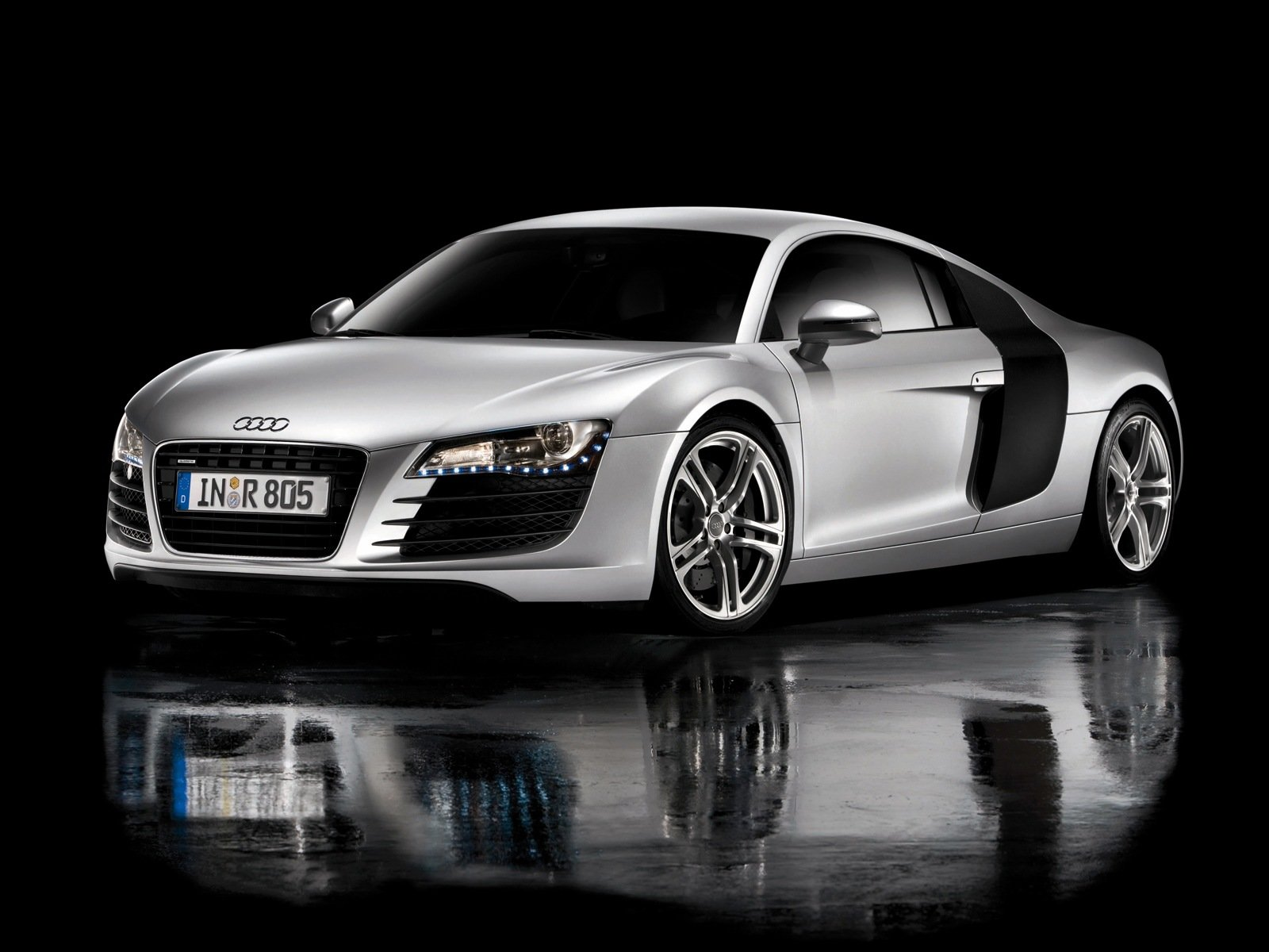 Latest New Car Photo Audi R8 Wallpaper Black Free Download