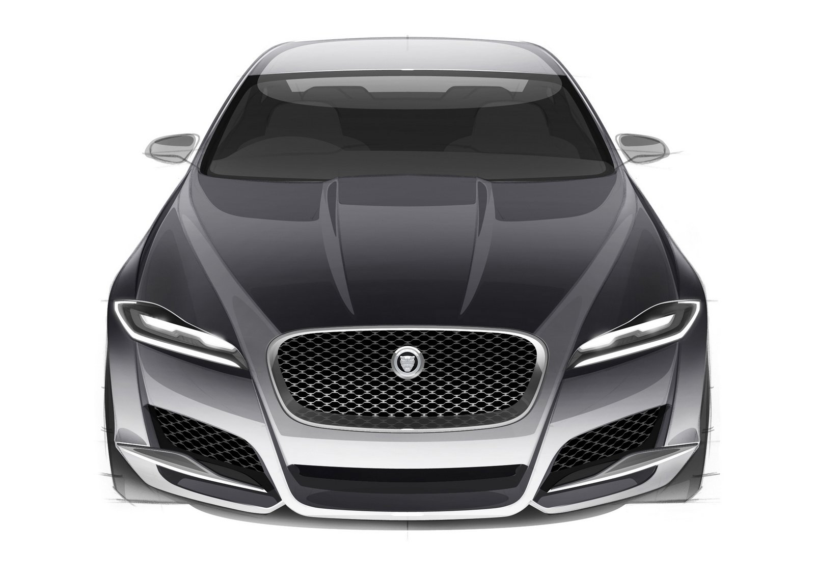 Latest 2016 Jaguar Xf Debuts In New York Does 60 In 5 Seconds Free Download