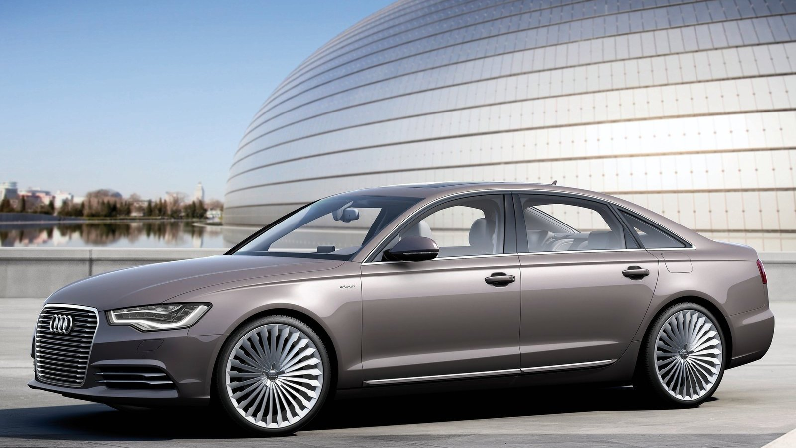 Latest Audi A6 L E Tron Hd Wallpapers The World Of Audi Free Download
