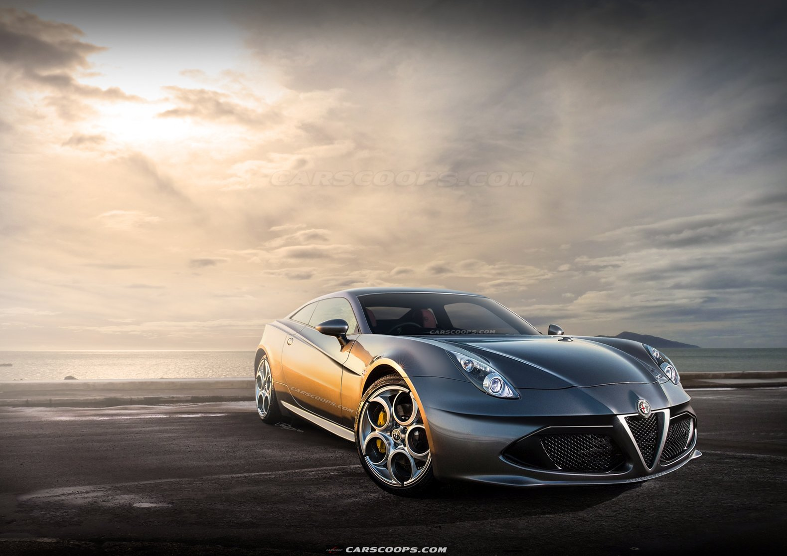 Latest Future Cars Alfa Romeo's Next Gtv Coupe Takes On The Free Download