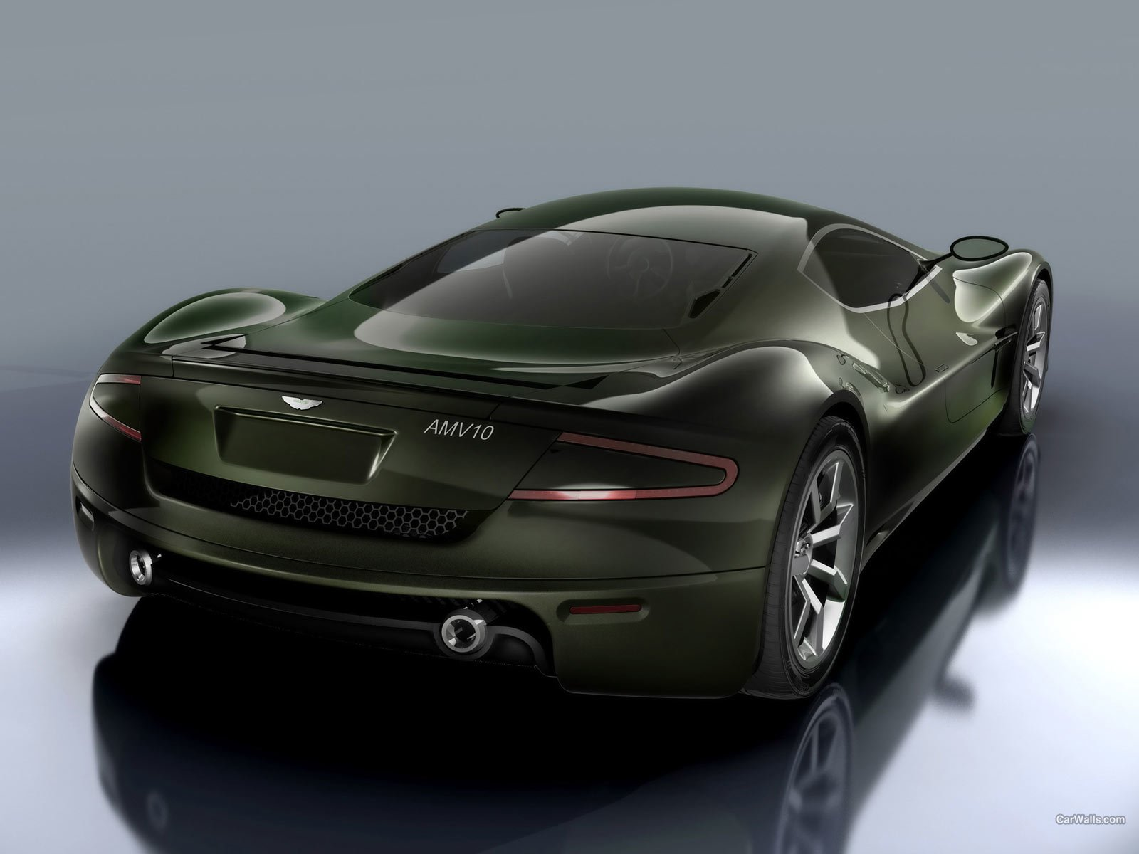 Latest Aston Martin Car Wallpapers Aston Martin Amv10 Concept Free Download