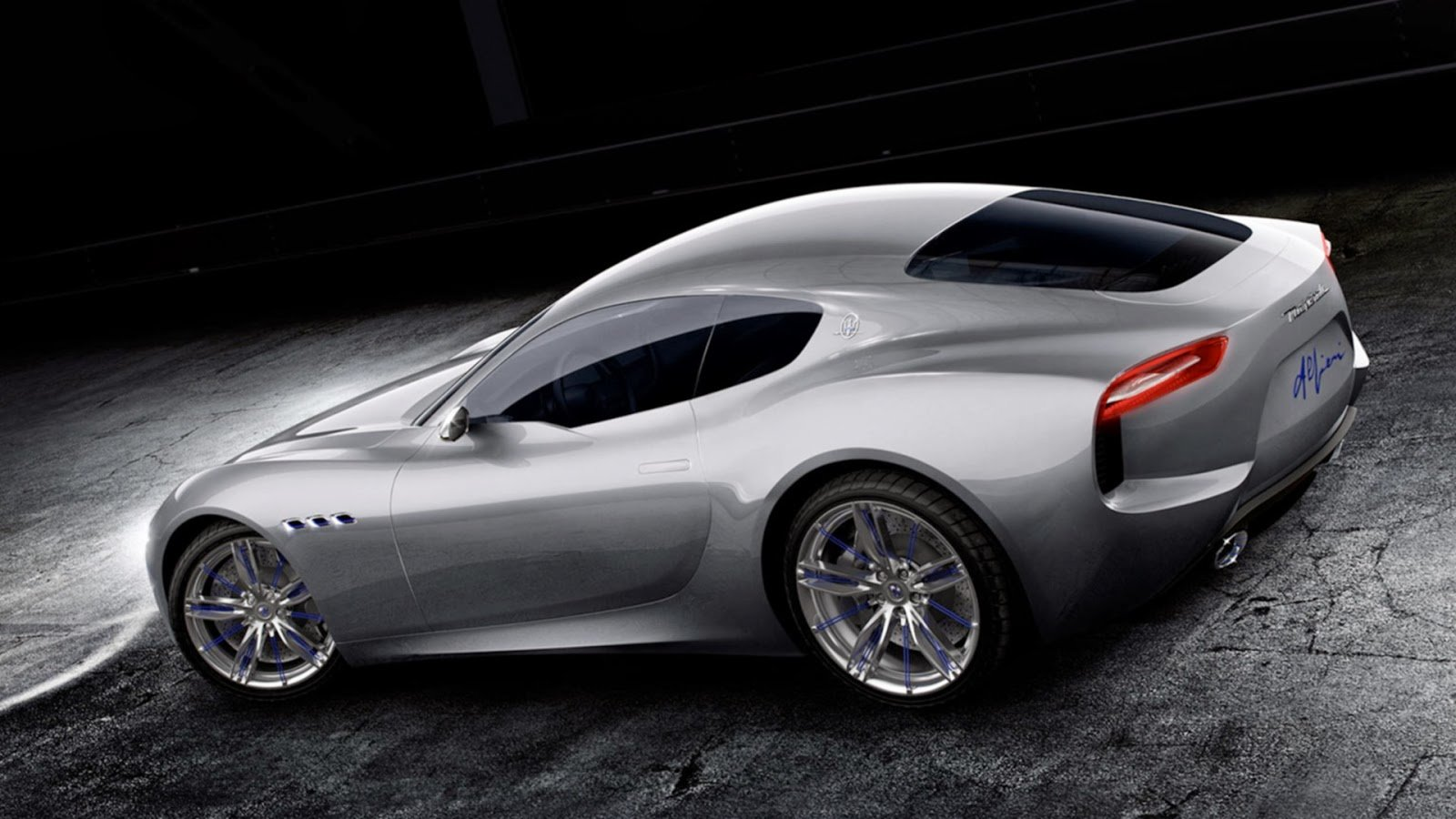 Latest Maserati Alfieri Concept Car Hd Wallpaper With Cars Free Download