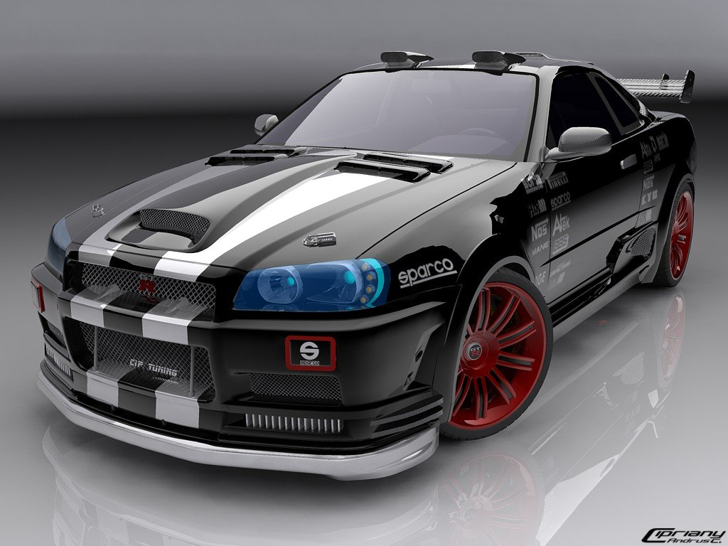 Latest All Cars Sport Colecion Nissan Skyline Pictures Free Download