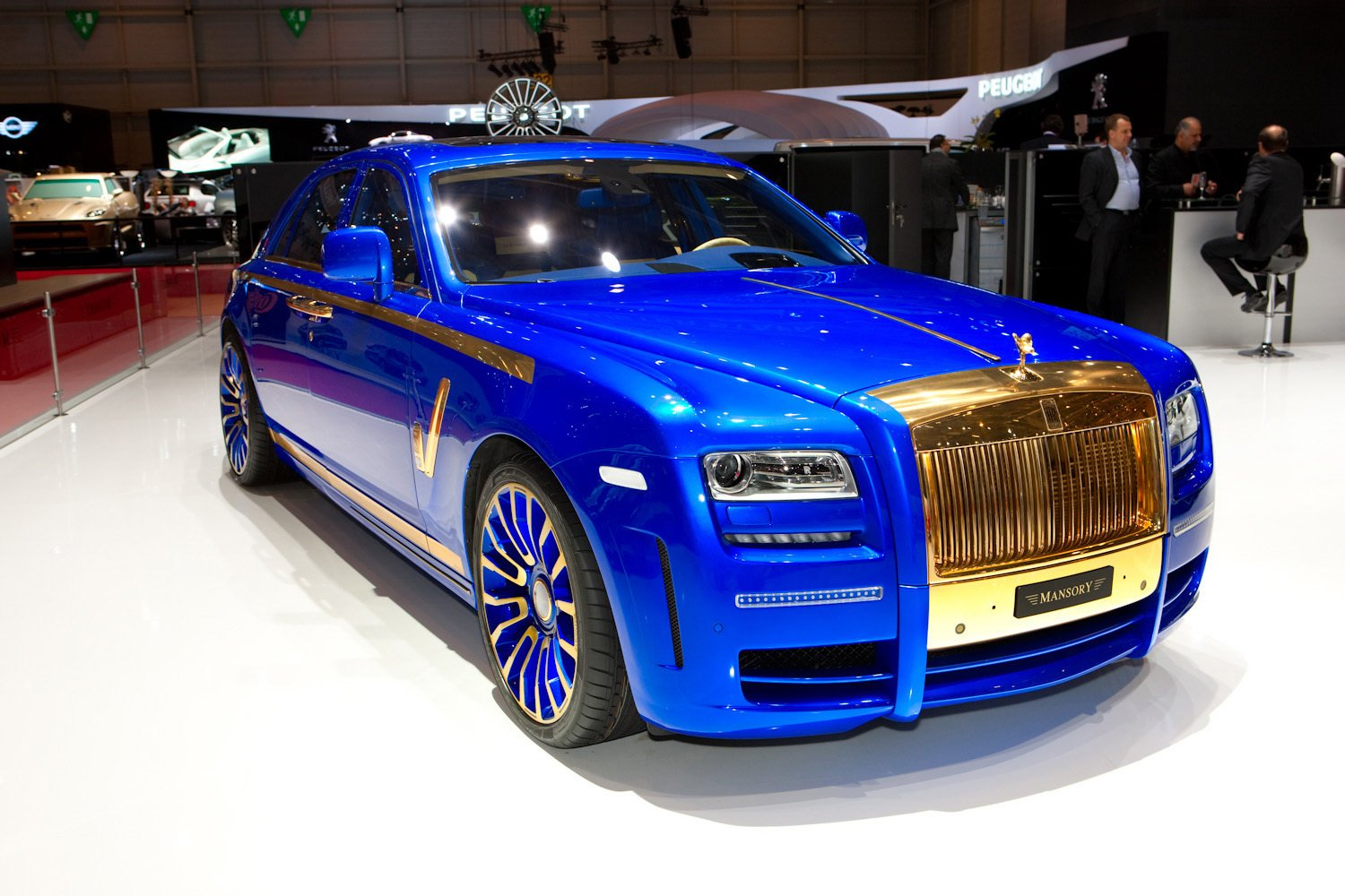 Latest New Mansory Rolls Royce Ghost Skips On The Gold Flakes Free Download