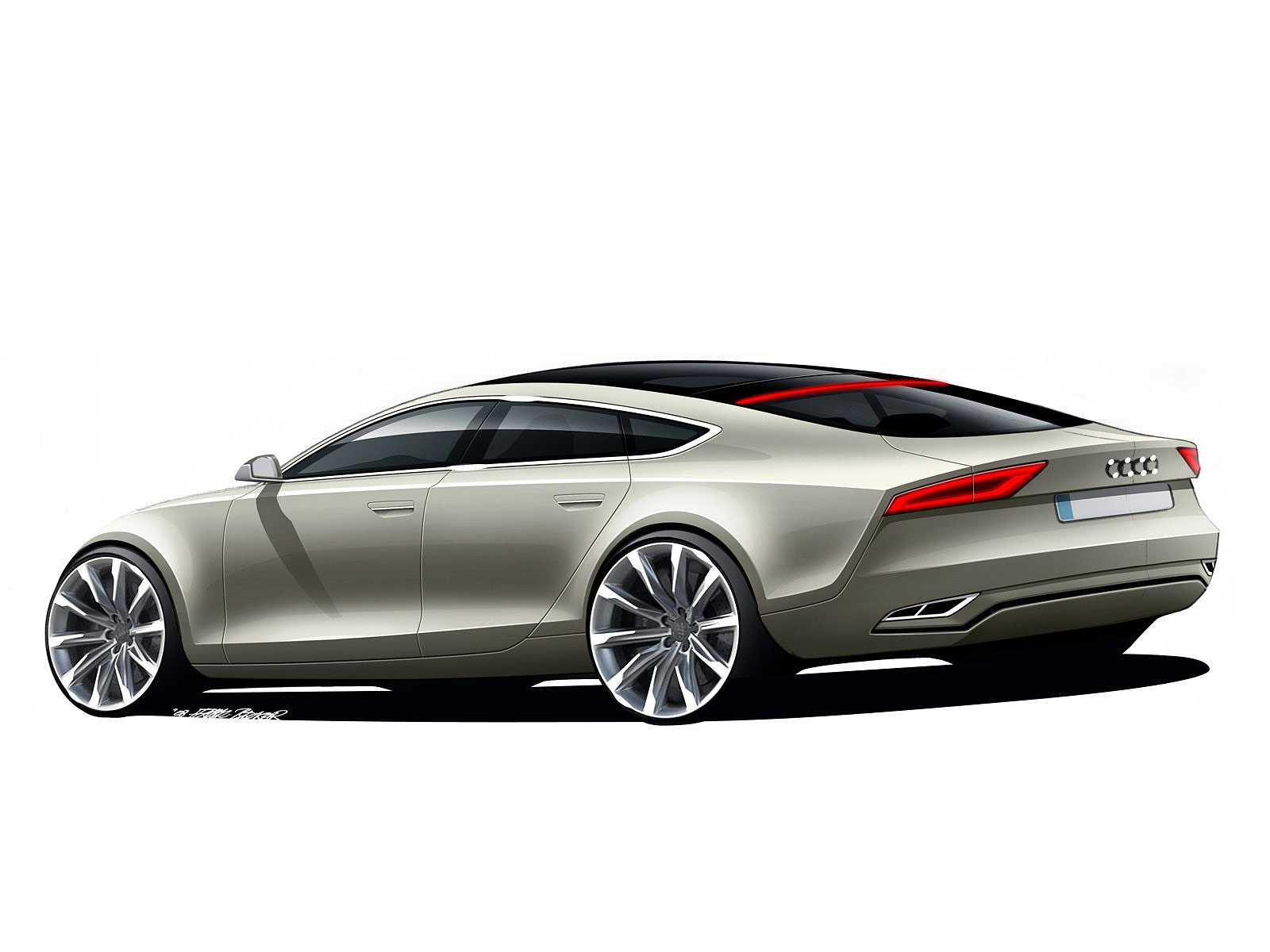 Latest 2009 Audi Sportback Concept Car Pictures Insurance Free Download