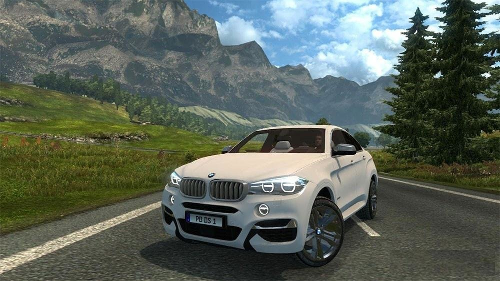 Latest Bmw X6 Brktn24 Edit Ets2 Mods Euro Truck Simulator 2 Free Download