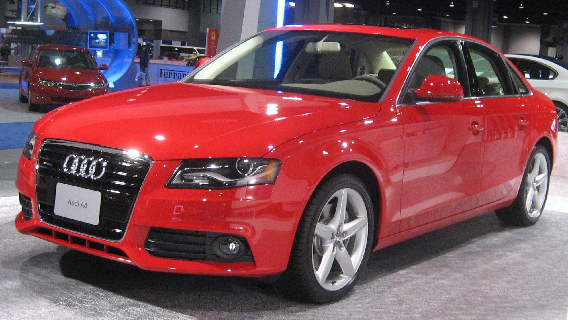 Latest Automotive Wallpapers 2009 Audi A4 Photo Free Download