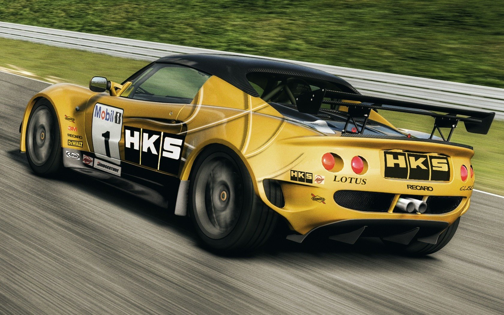 Latest Lotus Elise Race Car 1680X1050 Wallpaper Free Download