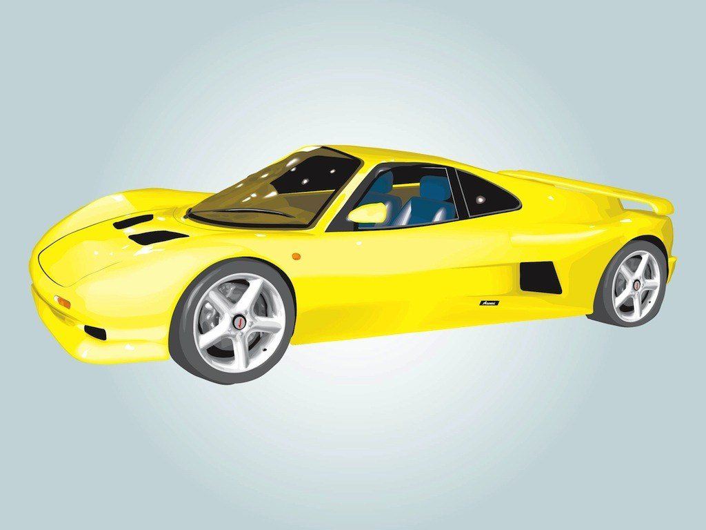 Latest Ascari Car Illustration Vector Art Graphics Freevector Com Free Download