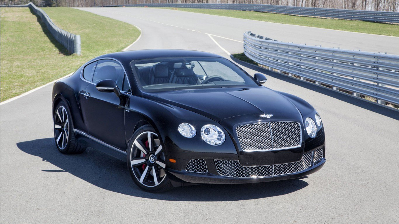 Latest 2014 Bentley Continental Gt W12 Le Mans Edition Wallpaper Free Download