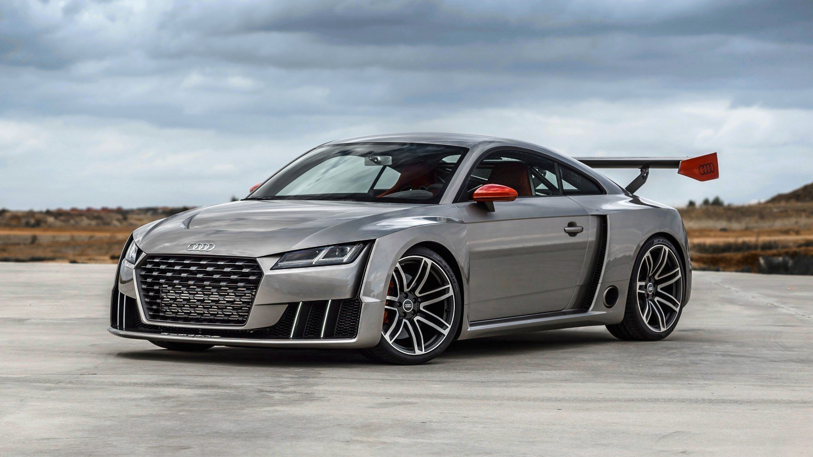 Latest 2016 Audi Tt Coupe Concept Wallpaper Hd Car Wallpapers Free Download