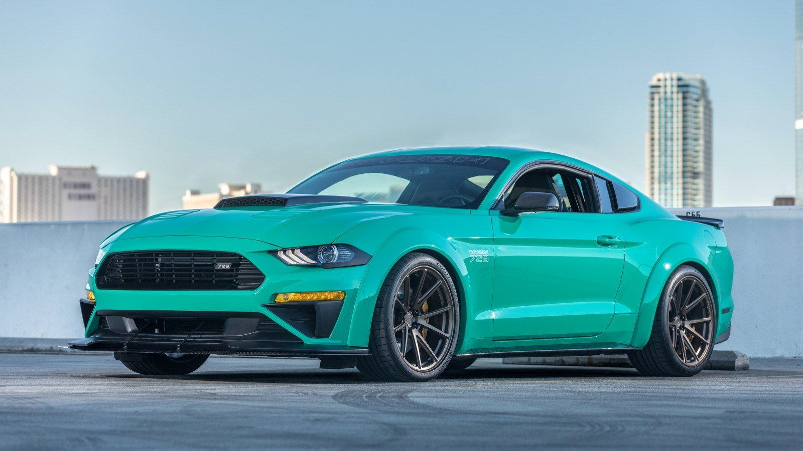 Latest 2018 Roush Ford Mustang 729 4K Wallpaper Hd Car Free Download