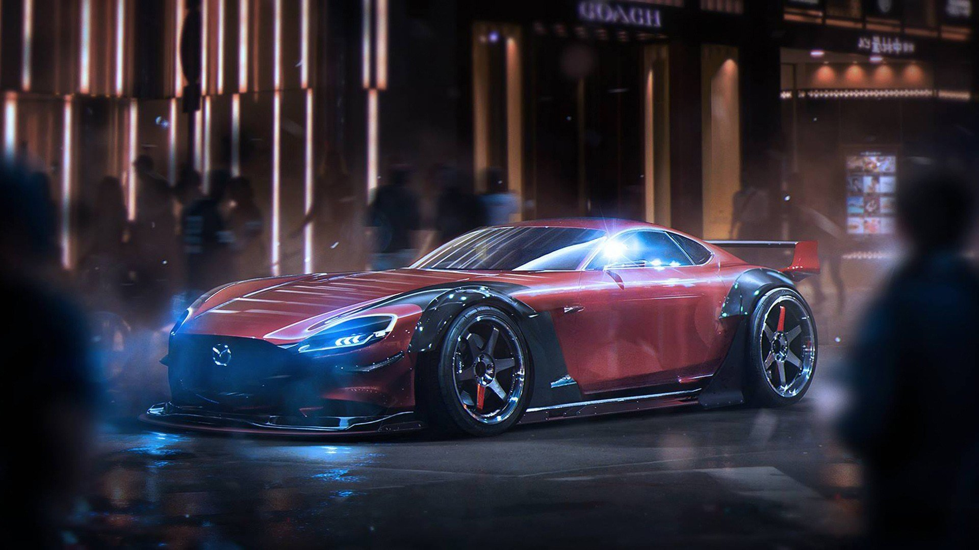 Latest Mazda Rx Vision Concept Wallpaper Hd Car Wallpapers Id Free Download