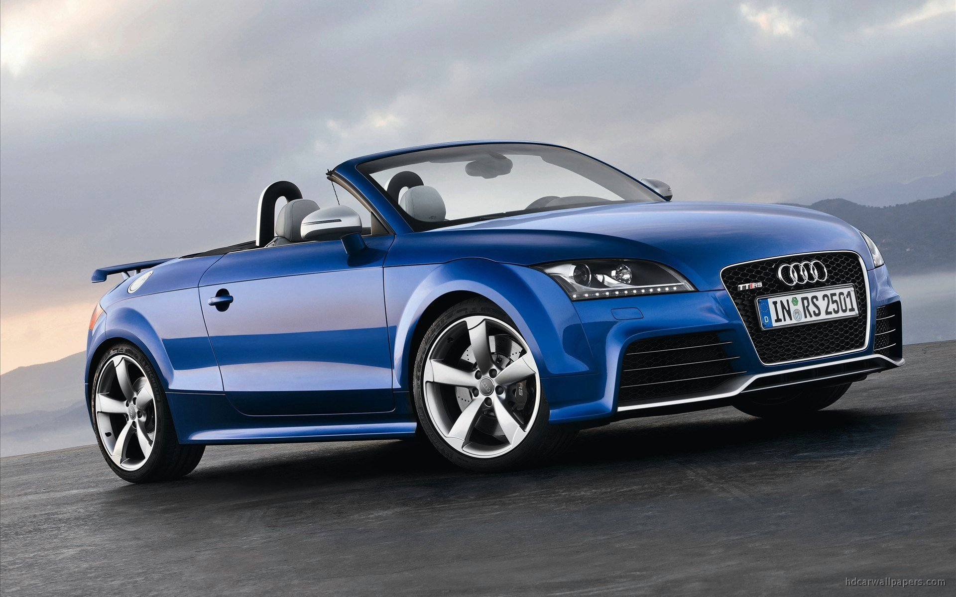 Latest 2010 Audi Tt Rs Roadster Wallpaper Hd Car Wallpapers Free Download