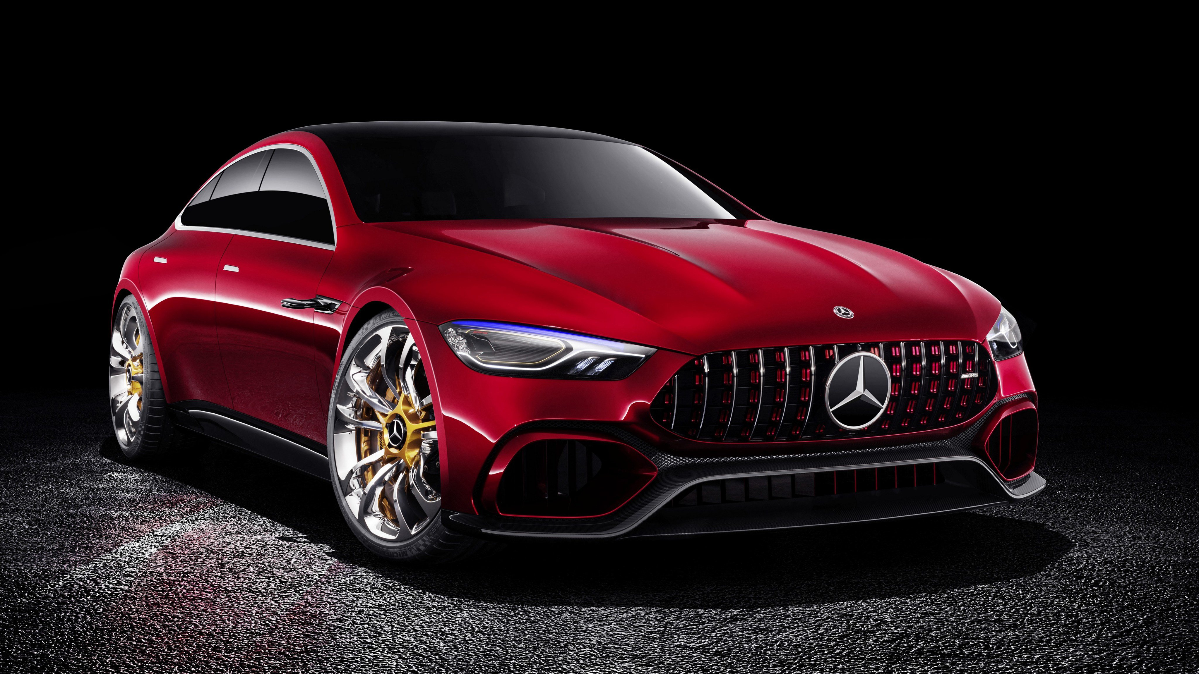 Latest 2017 Mercedes Amg Gt Concept Wallpaper Hd Car Wallpapers Free Download