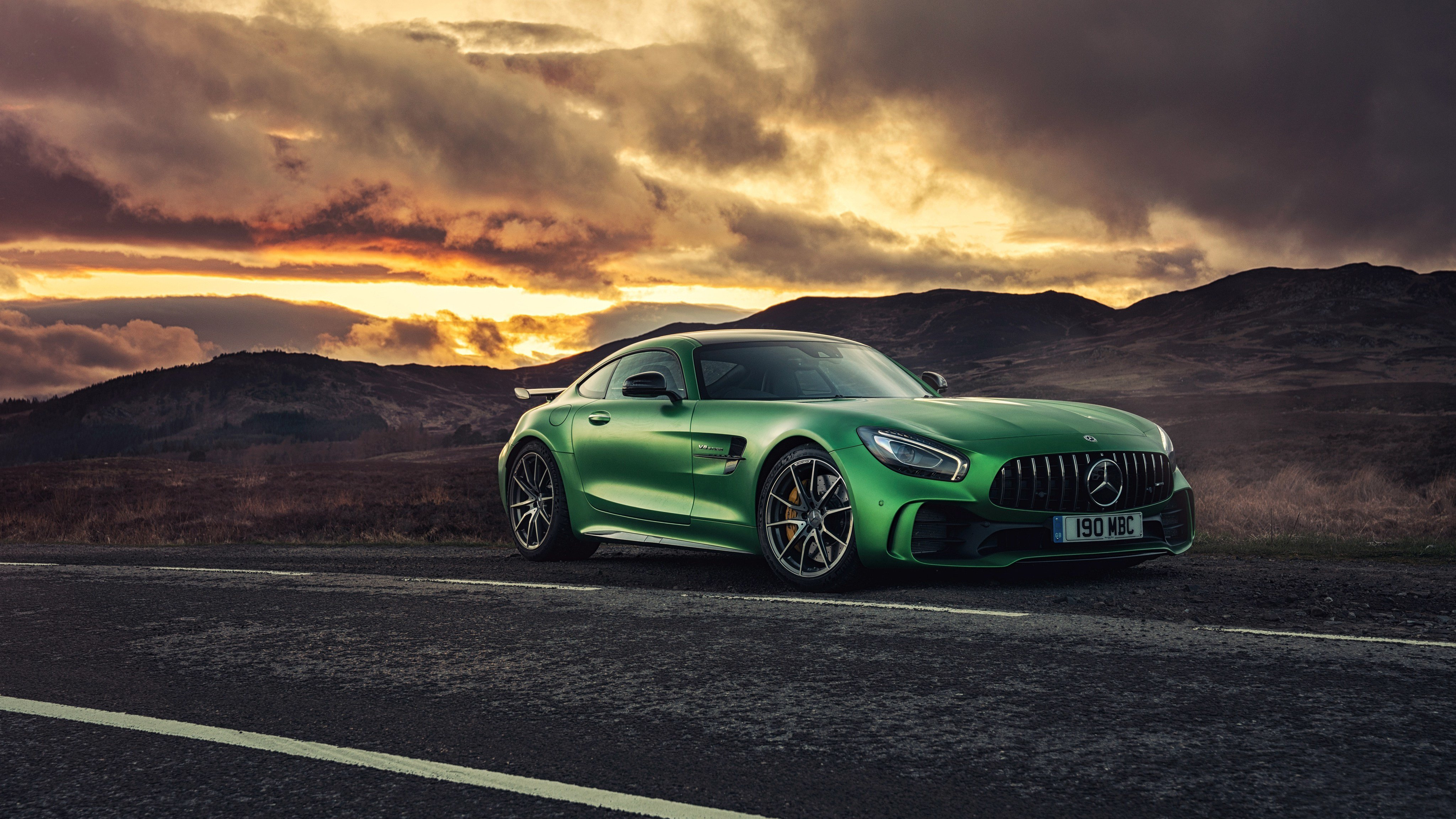 Latest Mercedes Amg Gt R 2017 4K Wallpaper Hd Car Wallpapers Free Download