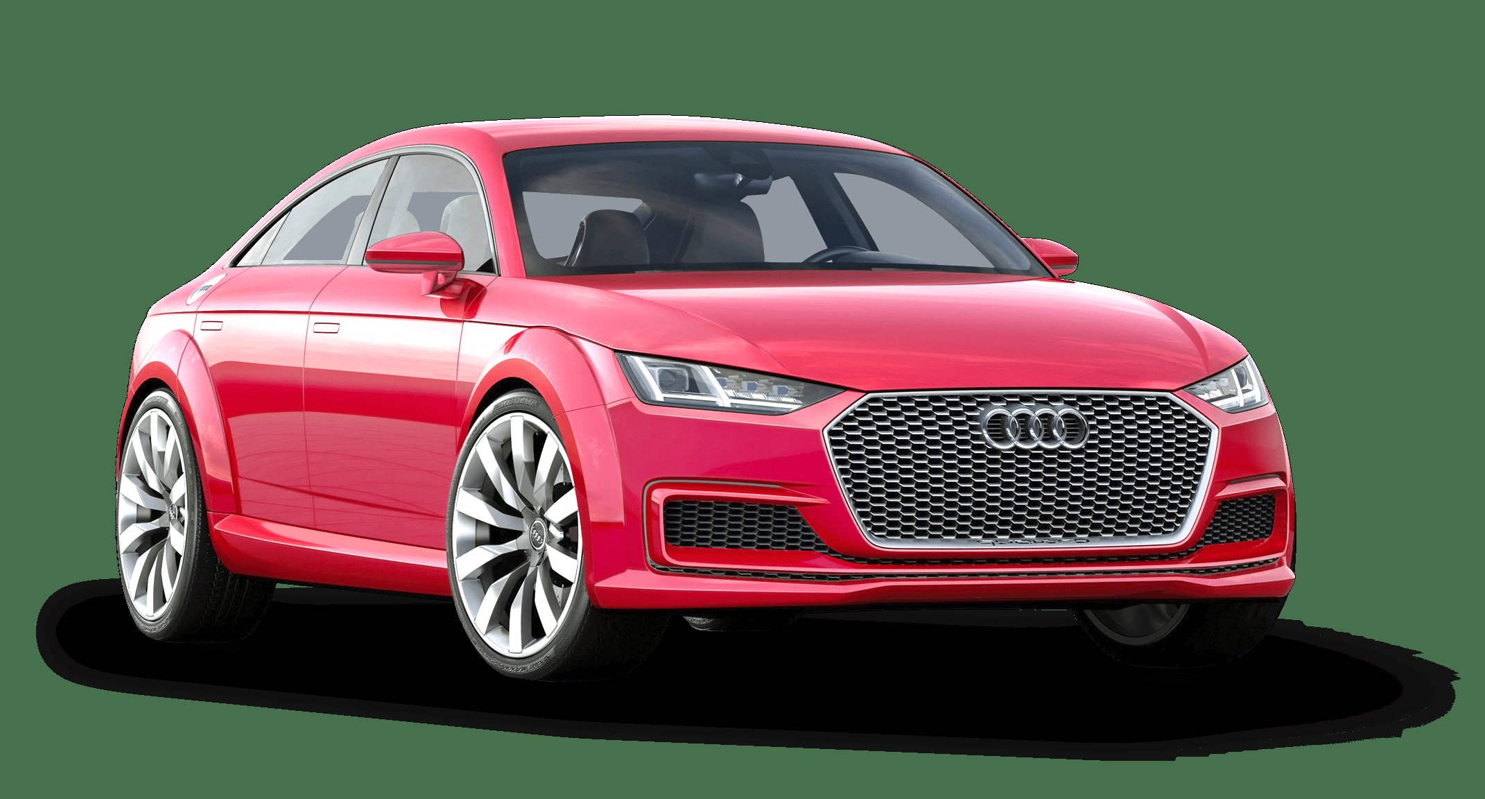 Latest Red Audi Tt Sportback Car Png Image Pngpix Free Download