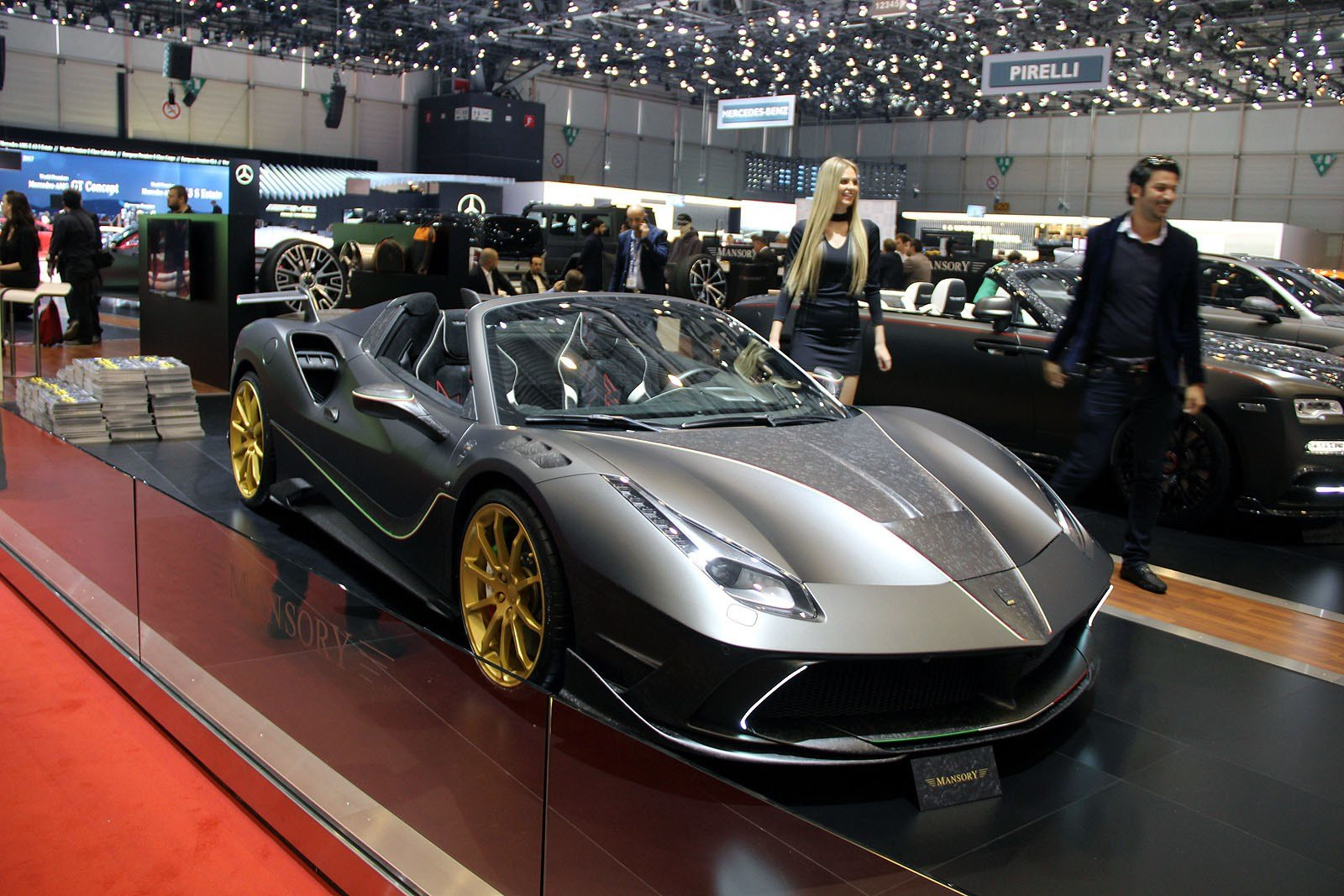Latest Gallery Mansory S Crazy Luxury Cars At The 2017 Geneva Free Download