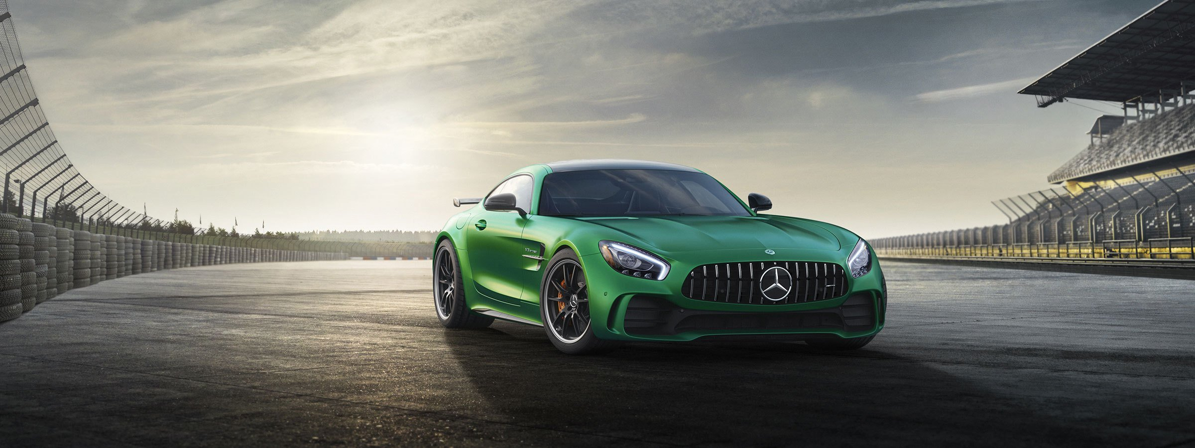 Latest 2018 Mercedes Amg High Performance Gt Coupe Sports Car Free Download