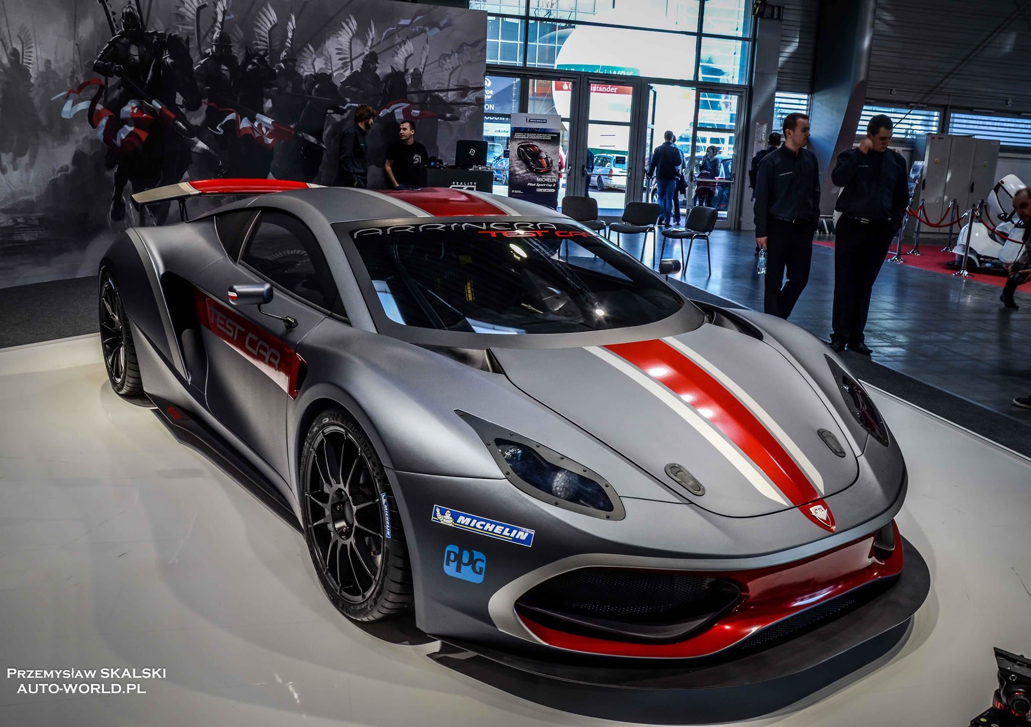 Latest 2015 Arrinera Hussarya Test Car Front Photo Size 2048 X Free Download