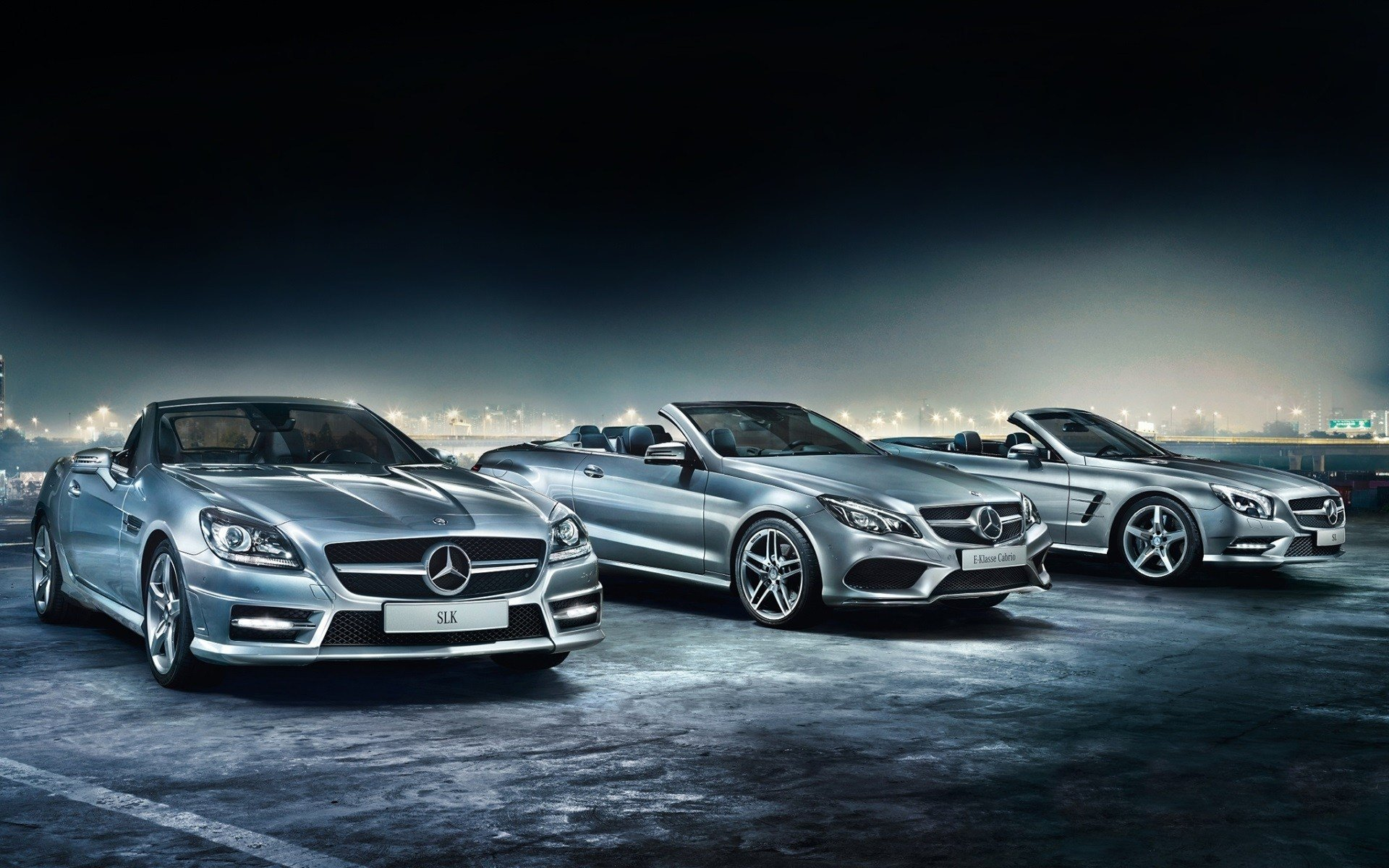 Latest Mercedes Benz Cars At Night Wallpaper Cars Wallpaper Free Download