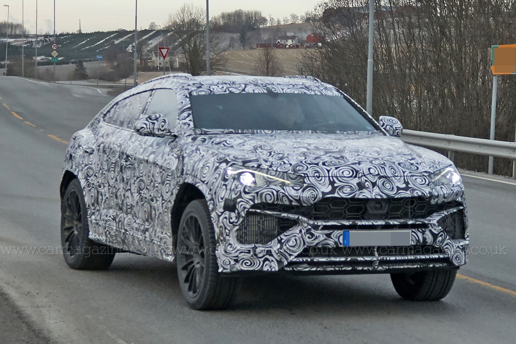 Latest New Lamborghini Urus Suv Spotted Being Thrashed Around The Free Download