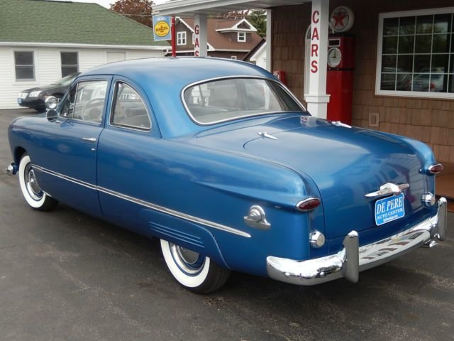 Latest 1949 49 Ford 2 Door Custom Coupe V8 Manual For Sale Free Download