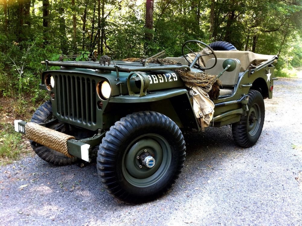 Latest Wwii Willys Mb Or Ford Gpw Military Army Jeep Rear Seat Free Download