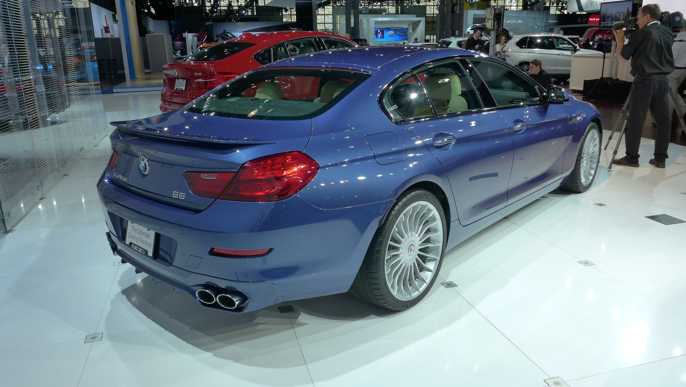 Latest 2014 Alpina Bmw B6 Gran Coupã© Dark Cars Wallpapers Free Download