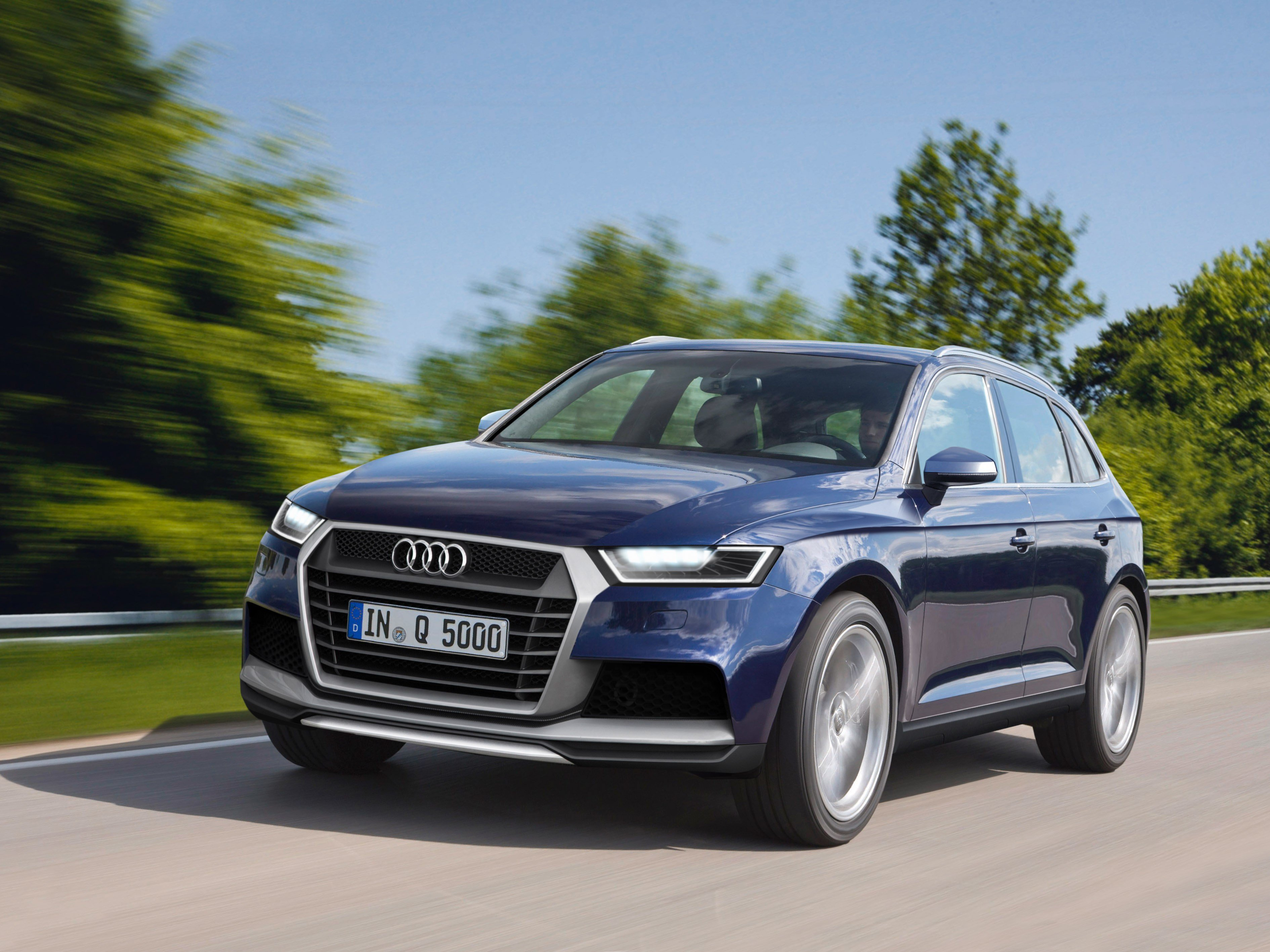 Latest 2016 Audi Q5 Teaser Pics Spy Shots And Exclusive Images Free Download