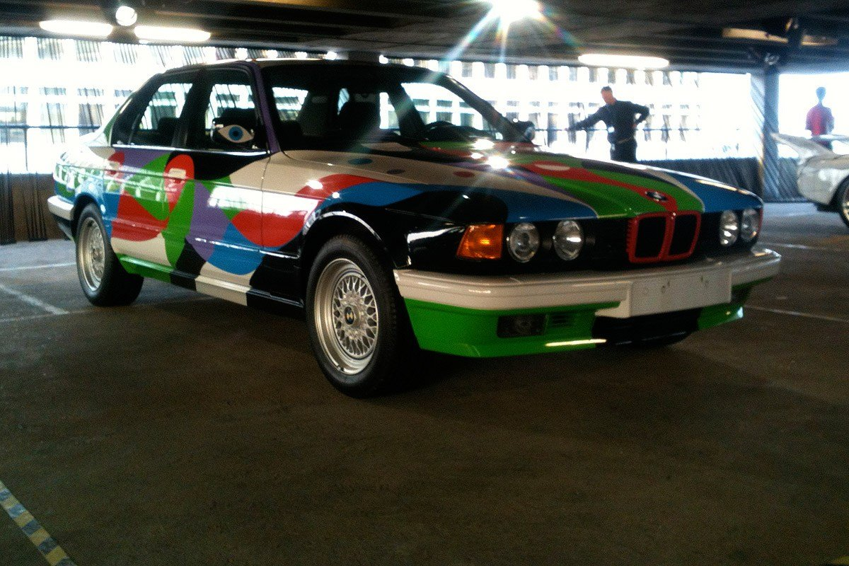 Latest Bmw Art Cars Come To London Auto Express Free Download