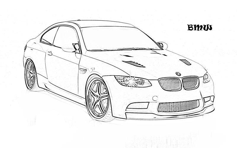 Latest Bmw Car Coloring Pages Coloringstar Free Download
