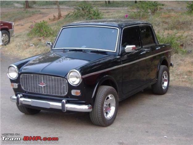 Latest Padmini Modified Premier Fiat Old Pictures Free Download