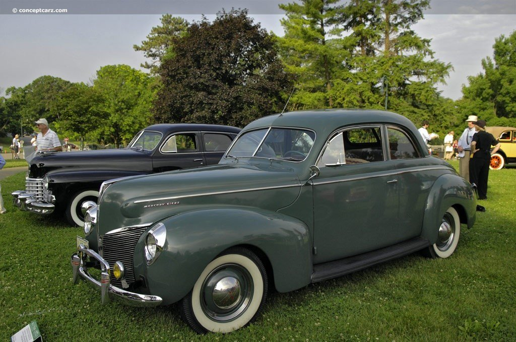 Latest 1940 Mercury Eight Series 09A Hollywood Coupe V 8 Free Download