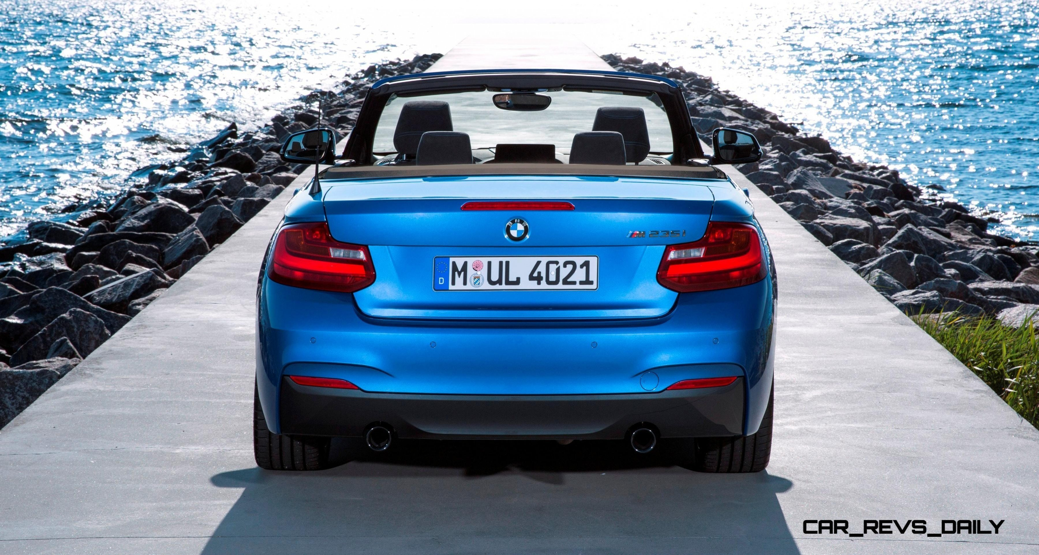Latest 2015 Bmw 228I And M235I Convertibles Make Tail Out Top Free Download